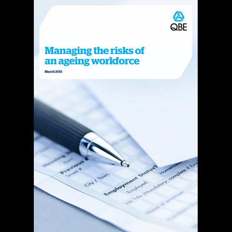 Managing the risks of an ageing workforce (PDF 1.8Mb)