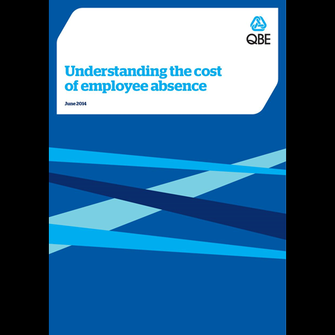 Understanding the cost of employee absence (PDF 1.0Mb)